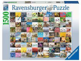 Ravensburger Puzzle 99 Fahrraeder und mehr 1500 Teile