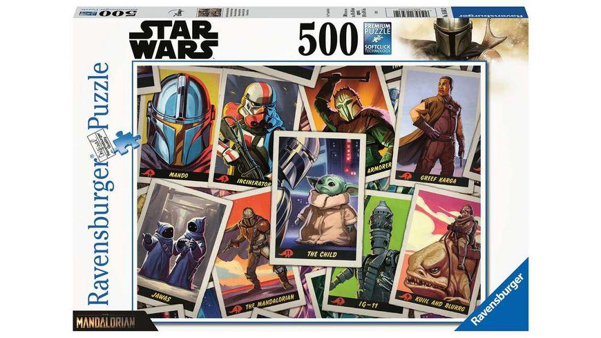 Ravensburger Puzzle - Star Wars: Mandalorian - 500 Teile