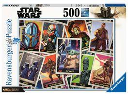 Ravensburger Puzzle Star Wars Mandalorian 500 Teile