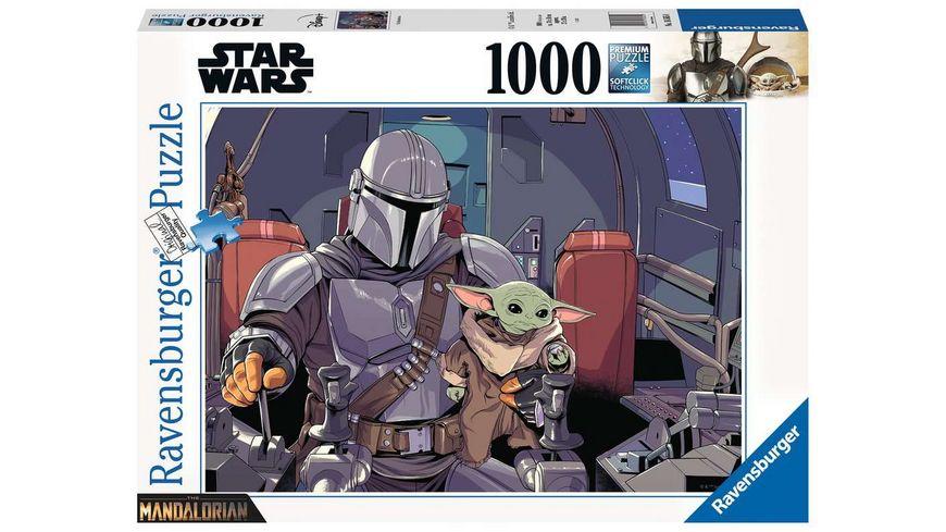 Ravensburger Puzzle - Star Wars: Mandalorian - 1000 Teile
