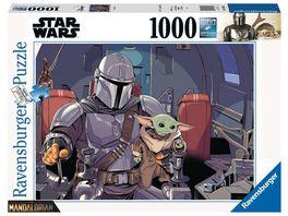 Ravensburger Puzzle Star Wars Mandalorian 1000 Teile