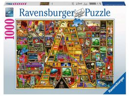 Ravensburger Puzzle Awesome Alphabet A 1000 Teile
