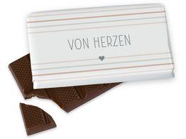 Geschenk fuer Dich Schokolade Von Herzen