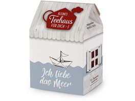 Geschenk fuer Dich Teehaus Ich liebe Meer 8x3 5g