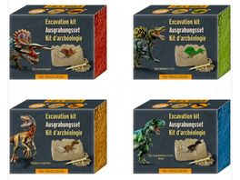 Die Spiegelburg Mini Ausgrabungsset Dinosaurier Figur T Rex World 1 Stueck sortiert