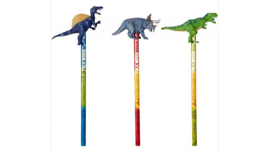 Die Spiegelburg Topper Bleistift T Rex World 1 Stueck sortiert