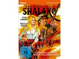 Man nennt mich Shalako Remastered Edition Hochspannender Western mit Sean Connery und Brigitte Bardot Pidax Western Klassiker