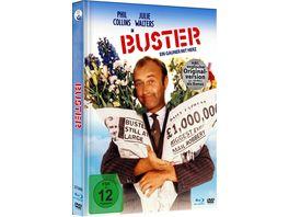 Buster Ein Gauner mit Herz Limited Mediabook Edition mit Blu ray DVD in HD neu abgetastet plus Booklet
