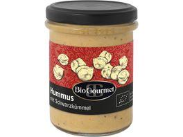 BioGourmet Hummus mit Schwarzkuemmel