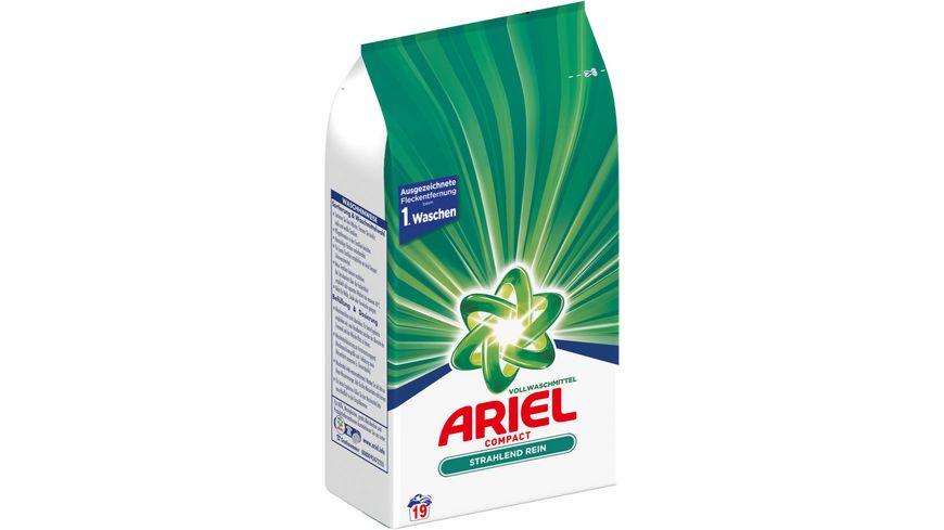 Ariel Compact Vollwaschmittel Pulver