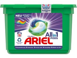 Ariel All in 1 Pods Color Farbschutz