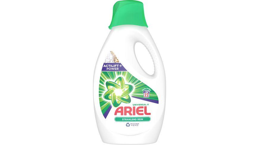 Ariel Fluessigwaschmittel Universal 22 WL