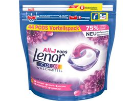 Lenor All in 1 Pods Amethyst Bluetentraum Colorwaschmittel