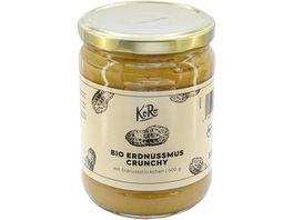 KoRo Bio Erdnussmus Crunchy