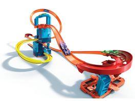 Mattel Hot Wheels Track Builder Unlimited Mega Beschleuniger Set motorisierte Autorennbahn