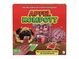 Mattel Games Apfelkompott Kartenspiel Familienspiel Partyspiel