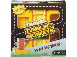 Mattel Games S O S Affenalarm Kompakt Kinderspiel Familienspiel Reisespiel