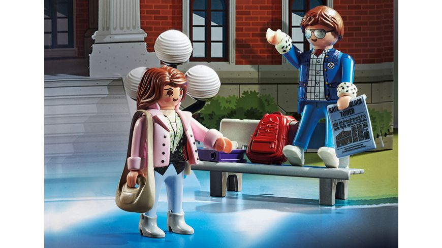 PLAYMOBIL 70574 Adventskalender Back to the Future
