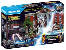 PLAYMOBIL 70574 Adventskalender Back to the Future