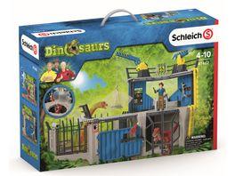 Schleich 41462 Dinosaurier Grosse Dino Forschungsstation