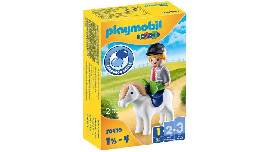 PLAYMOBIL 70410 - Junge mit Pony
