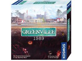 KOSMOS Greenville 1989 Das Kommunikationsspiel in der Mystery Welt