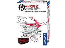 KOSMOS Murder Mystery Party Moerderisches Klassentreffen Das Krimi Dinner fuer Zuhause