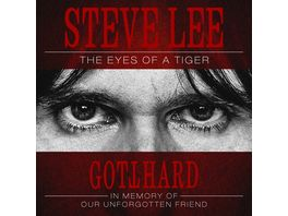 Steve Lee The Eyes Of A Tiger Digipak