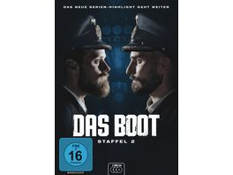 Das Boot Staffel 2 3 DVDs