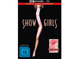 Showgirls You Don t Nomi 3 Disc Limited Collector s Edition im Mediabook 4K Ultra HD BR Bonus Blu ray