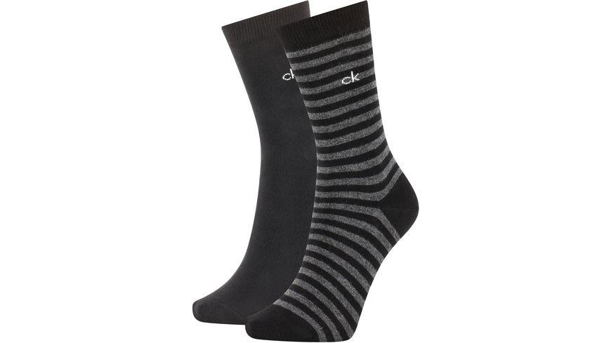 Calvin Klein Damen Socken Organic Cotton Jeanna 2er Pack