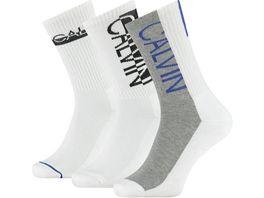 Calvin Klein Herren Socken Jeans Athleisure Jesse 3er Pack