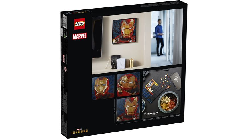 LEGO ART Marvel Studios Iron Man Kunstbild