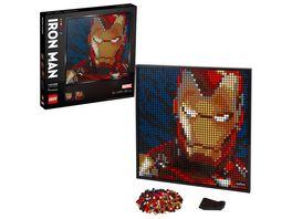 LEGO ART Marvel Studios Iron Man Kunstbild