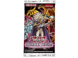 Yu Gi Oh Sammelkartenspiel Legendary Duelists Rage of Ra Boosterpackung 5 Karten