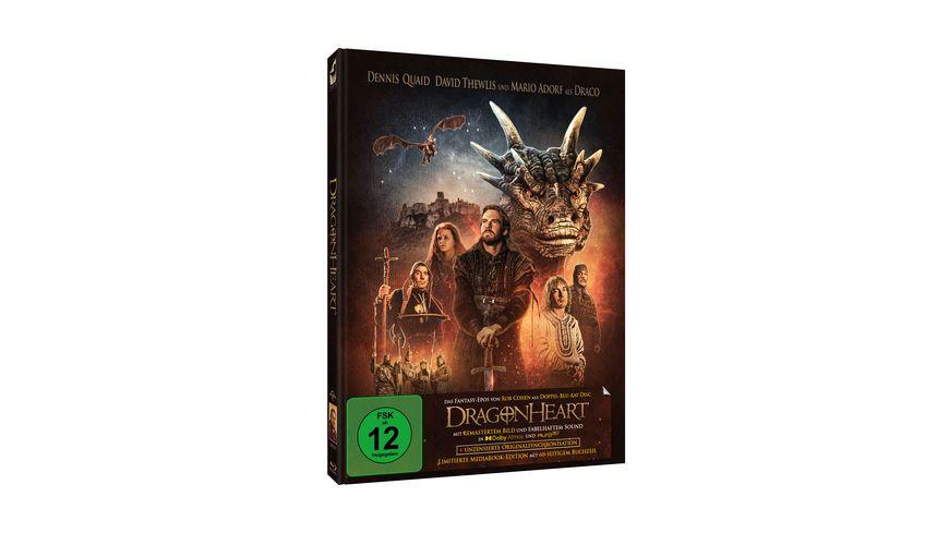 Dragonheart – Remastered Limited Edition Mediabook (New Artwork)