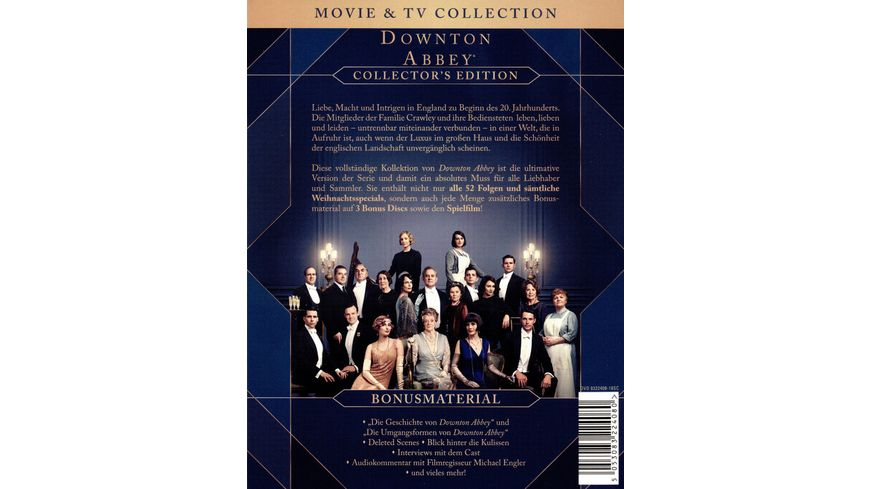 Downton Abbey Collector s Edition Film 27 DVDs