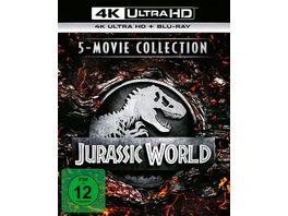 Jurassic World 5 Movie Collection 4K Ultra HD 5 BR4Ks 5 BRs