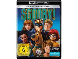 SCOOBY 4K Ultra HD Blu ray 2D
