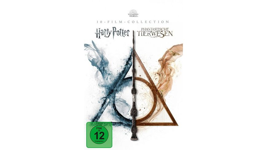 Wizarding World 10-Film Collection  [13 DVDs]