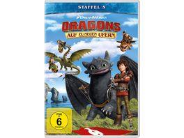 Dragons Auf zu neuen Ufern Staffel 5 4 DVDs