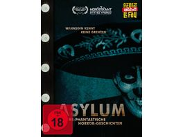 Asylum Irre phantastische Horror Geschichten Limited Edition Mediabook uncut DVD Cover C