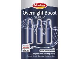 Schaebens Overnight Boost Serum