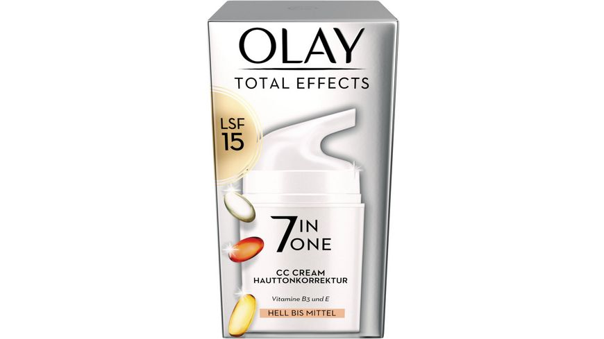 OLAY Total Effects CC Cream hell bis mittel