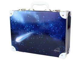 SCHNEIDERS Handarbeitskoffer Case Space Dark Blue