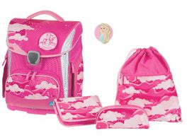 SCHNEIDERSToolbag Plus 4 teiliges Schulranzen Set Dream Castle Pink
