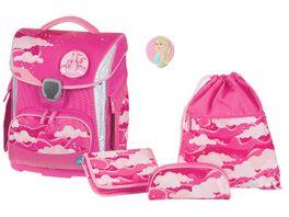 SCHNEIDERSToolbag Plus 4 teiliges Schulranzen Set Dream Castle Pink