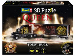 Revell 00230 QUEEN Tour Truck 50th Anniversary 128 Teile