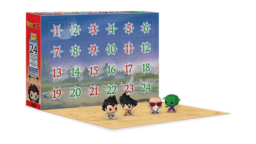 Funko - POP! - Adventskalender Dragon Ball Z