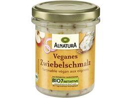 Alnatura veganes Zwiebelschmalz